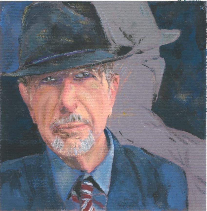 Leonard Cohen por baudet